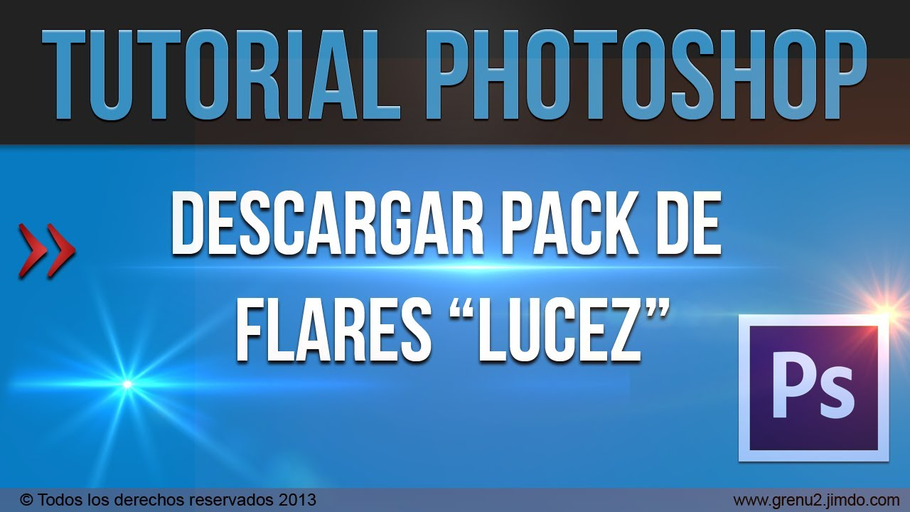 Tutorial Photoshop: Descargar pack de 50 flares (luces) para photoshop ...