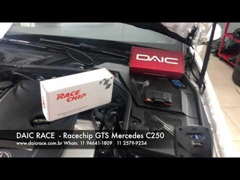 DAIC RACE - Mercedes C250 novo Racechip GTS 11 2579-9234 - YouTube