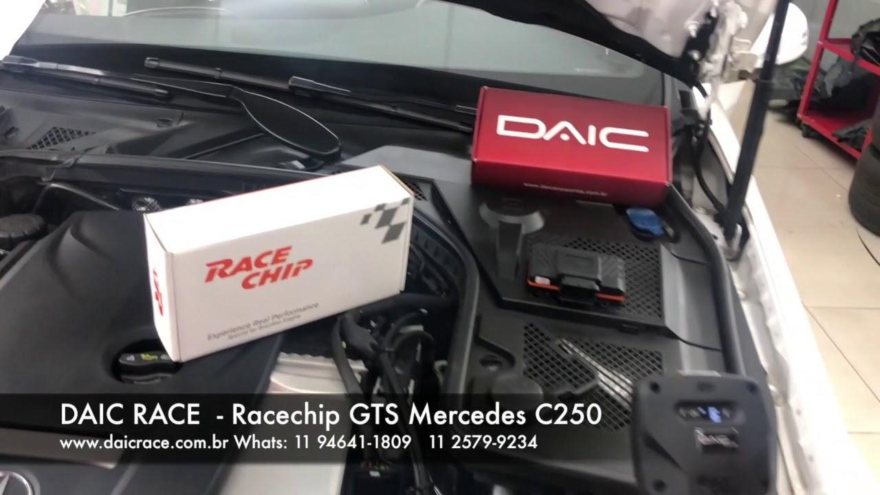DAIC RACE - Mercedes C250 novo Racechip GTS 11 2579-9234