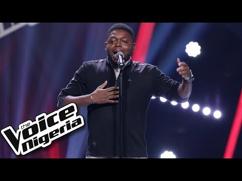"""Daniel James sings """"Here and Now"""" / Blind Auditions / The Voice Nigeria Season 2"""