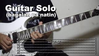 Magbalik Callalily Guitar Solo Lesson Tutorial (WITH TABS)