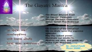 Gambar cover Gayatri Mantra Meaning By United Pandit