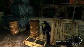 """Splinter Cell: Double Agent """"Bonus Mission-1 Ship"""" (PS2 Version)"""
