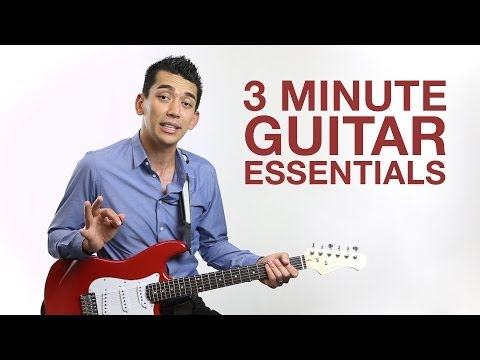 3 minute guitar essentials - from monoprice