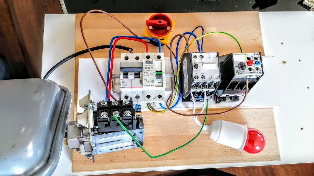 3 Fazlı Asenkron Motor Yıldız ve Üçgen Bağlantı Şekilleri