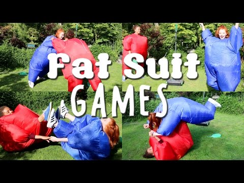 Fat Suit Games, Sumo Wrestling, Gymnastics, Yoga Challenge, Swingball | NiliPOD