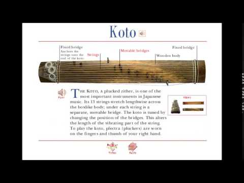 A to Z of Musical Instruments: K