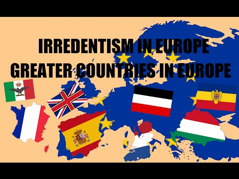 Irredentism in Europe | Greater Nations (UNREALISTIC)