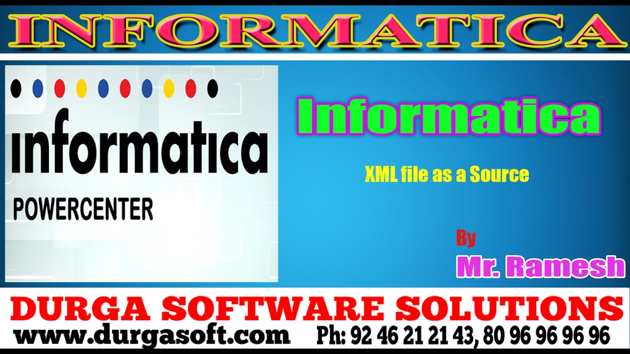 Informatica tutorialonlinetrainingxml file as a source by ramesh informatica tutorialonlinetrainingxml file as a source by ramesh baditri Images