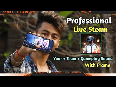 How To Live Stream PUBG Mobile Like Professional Streamers On Android Without PC | 2020 Trick