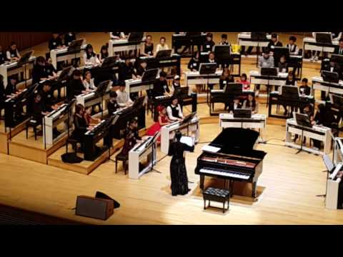 Lang Lang 101 pianists  (rehearsal)-2016 Seoul (Lotte concert hall)