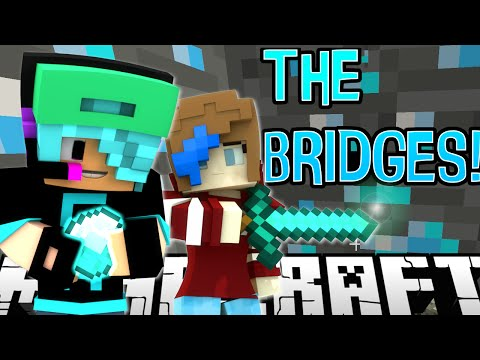 MINECRAFT the BRIDGES   MAJOR MINER   RADIOJH GAMES & GAMER CHAD