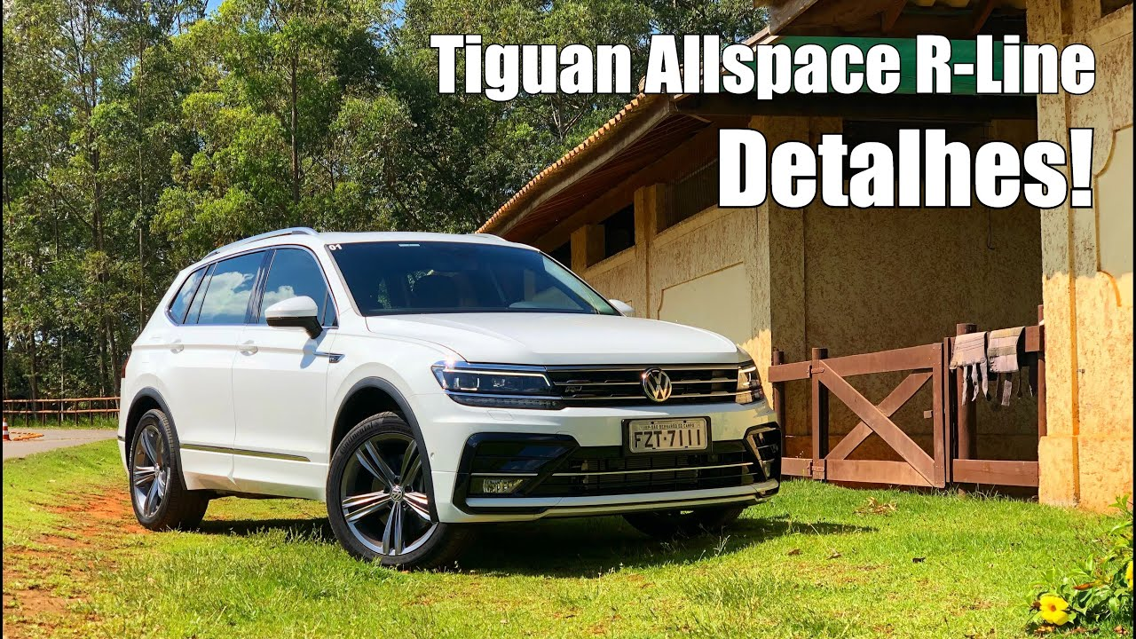 volkswagen tiguan allspace 2018 r line falando de carro. Black Bedroom Furniture Sets. Home Design Ideas