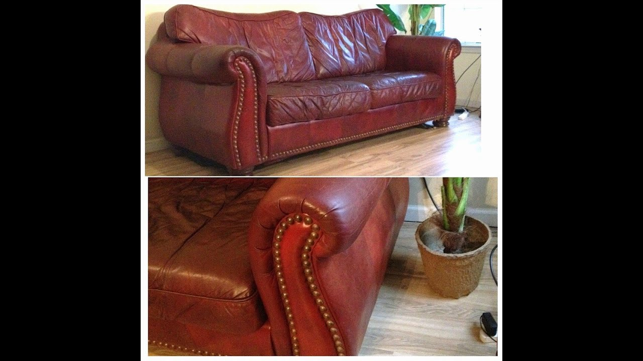 Genuine Leather Robinson Couch