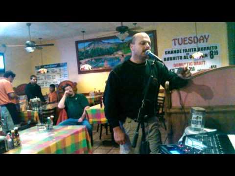 Karaoke at fiesta Mexicana mt. Washington