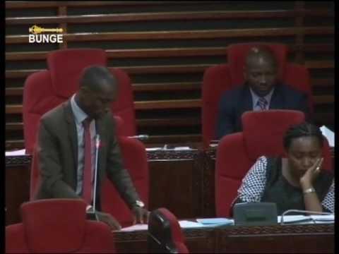 Mbunge Goodluck Mlinga amtaja mbunge anayetumia bangi (Feb. 06, 2017)