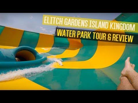 Elitch Gardens Theme & Water Park 2017 Tour & Review (Part 2)