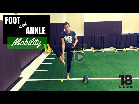 Golf Flexibility - Foot and Ankle Mobility