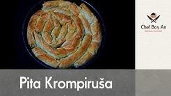 Krompiruša sa Gotovim  Korama (Savijača) - Potato Pie - Kartoffelkuchen
