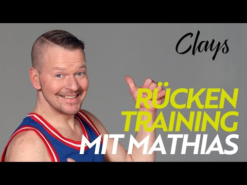 CLAYS LIVE: Rückentraining