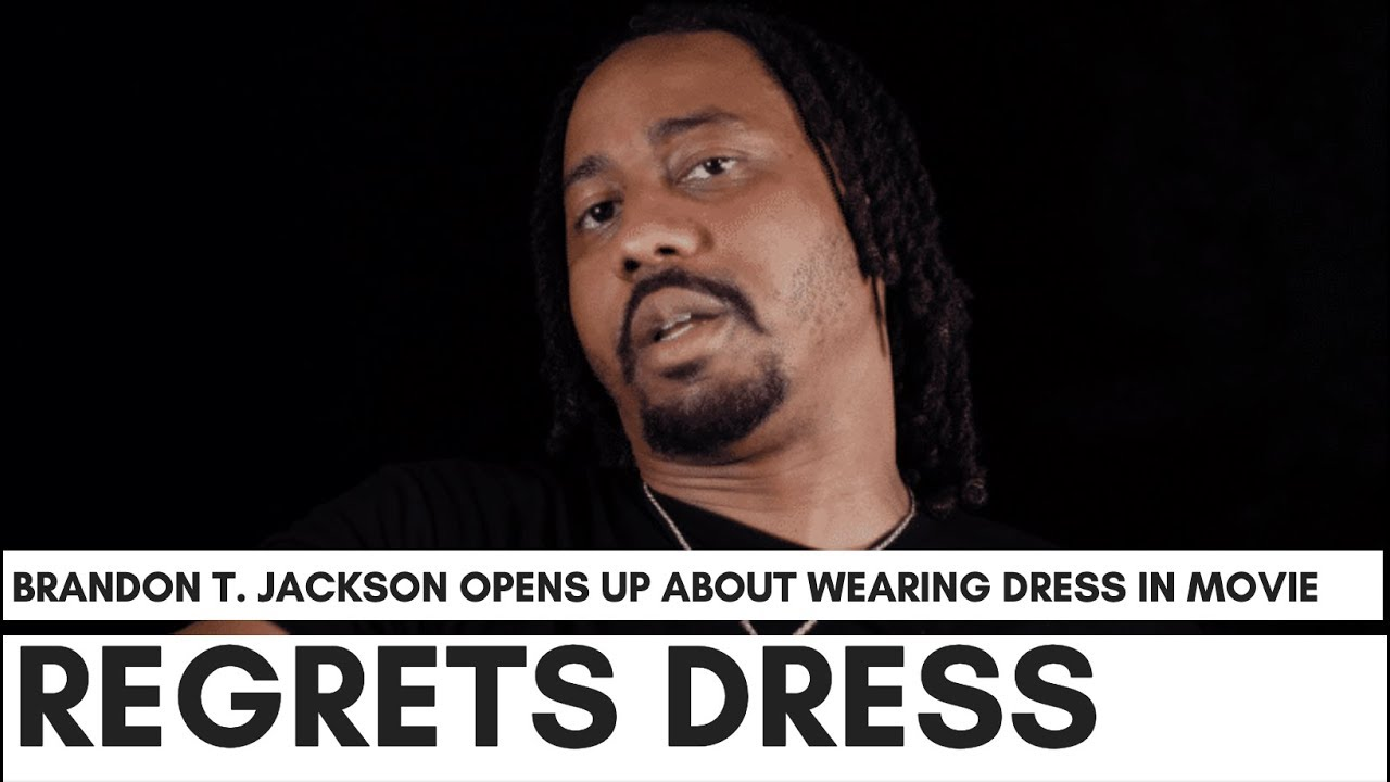 "Brandon T. Jackson Regrets Wearing Dress With Martin Lawrence: ""Katt Williams Tried To Warn Me."