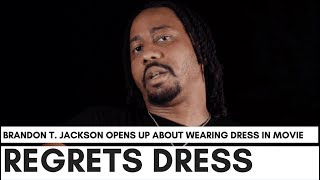 "Brandon T. Jackson Regrets Wearing Dress With Martin Lawrence: ""Katt Williams Tried To Warn Me.."""
