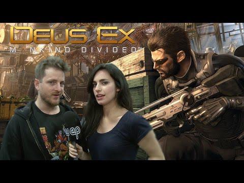 Elias Toufexis on Deus Ex: Mankind Divided