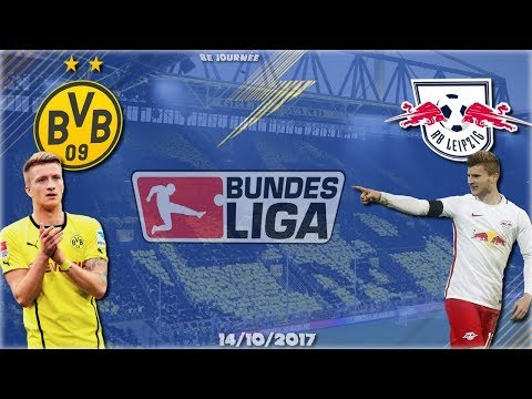 Bundesliga   14/10/2017 : Borussia Dortmund - RB Leipzig  [Journée 8]