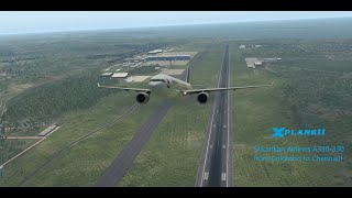 SriLankan Airlines || A330-300 || Colombo to Chennai || UL 121 || X-Plane 11