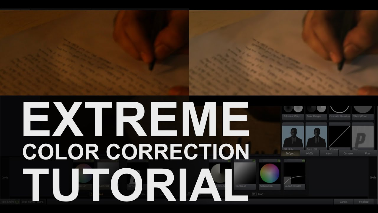 Extreme Color Correction In After Effects │ Complete Cc