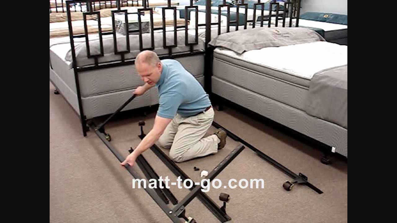 Beducation 174 How To Assemble A Bed Frame Youtube