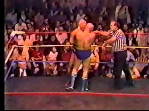 80s WWA Dick The Bruiser vs Great Wojo Wrestling