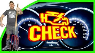 Что Делать..? ЗАГОРЕЛСЯ ЧЕК (Check Engine)