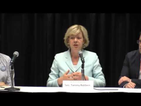 Senator Tammy Baldwin   Netroots Nation 2016   CWA Video