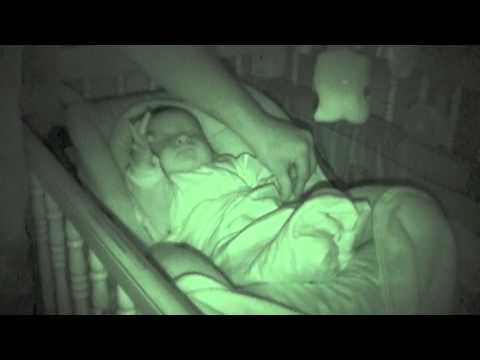 Dad Tries to Tuck Baby Son Into Bed—But the Nanny Cam Captures 'Something Strange'