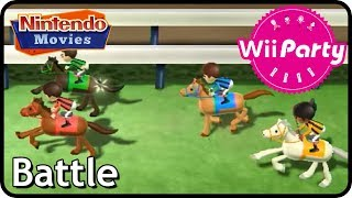 Wii Party - Mini-Game Mode - Battle (2 player)