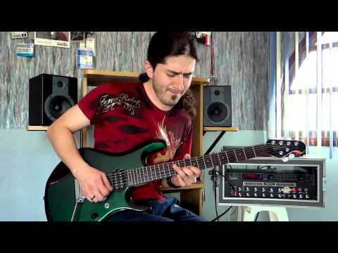Joe Satriani - Surfing With The Alien - Guitar performance by Cesar Huesca