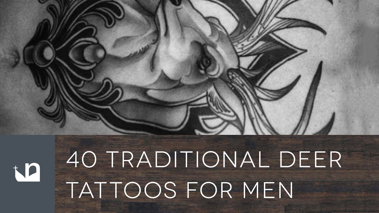 40 Traditional Deer Tattoo Designs For Men – Animal Ideas