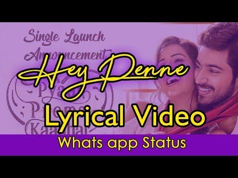 hey-penne-|-high-on-love-|-yuvan-shankar-raja-|-sid-sriram-|-lyrical-video-|-whats-app-status