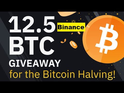 Binance Halving 12.5 BTC Big Bounty | Earn Free Bitcoin In Binance Exchange Must Join 8