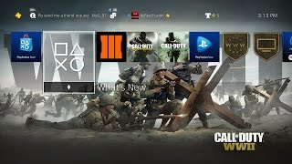 How to Download the Call of Duty: World War 2 Theme for the PS4! (CALL OF DUTY: WORLD WAR 2 THEME)