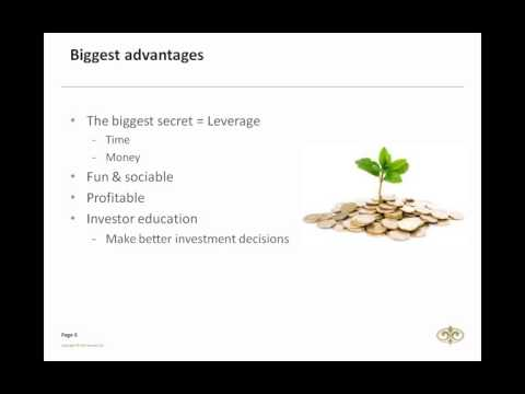 How to start a successful investment club 2014/12/10