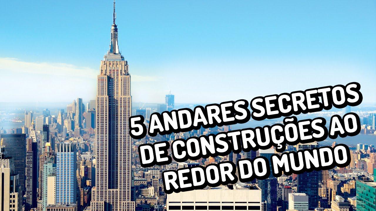5 andares secretos de construções ao redor do mundo