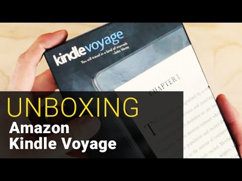 Amazon Kindle Voyage - UNBOXING - Out of the Box #4