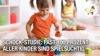 Schock-Studie: Fast 100 Prozent aller Kinder sind spielsüchtig