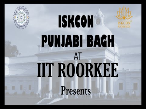 ISKCON Punjabi Bagh @ IIT Roorkee with Mr Vivek Bindra Best Motivational Speaker in India