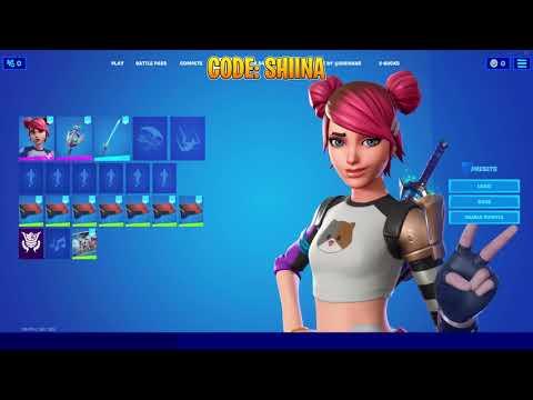 *NEW* Summer Skye (Ava) IN-GAME Showcase!