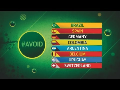 The top seeds England want to #Avoid? | #DrawShow Preview