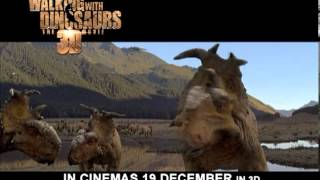 Walking With Dinosaurs: The 3D Movie- Official Trailer- IN CINEMAS 19 DECEMBER