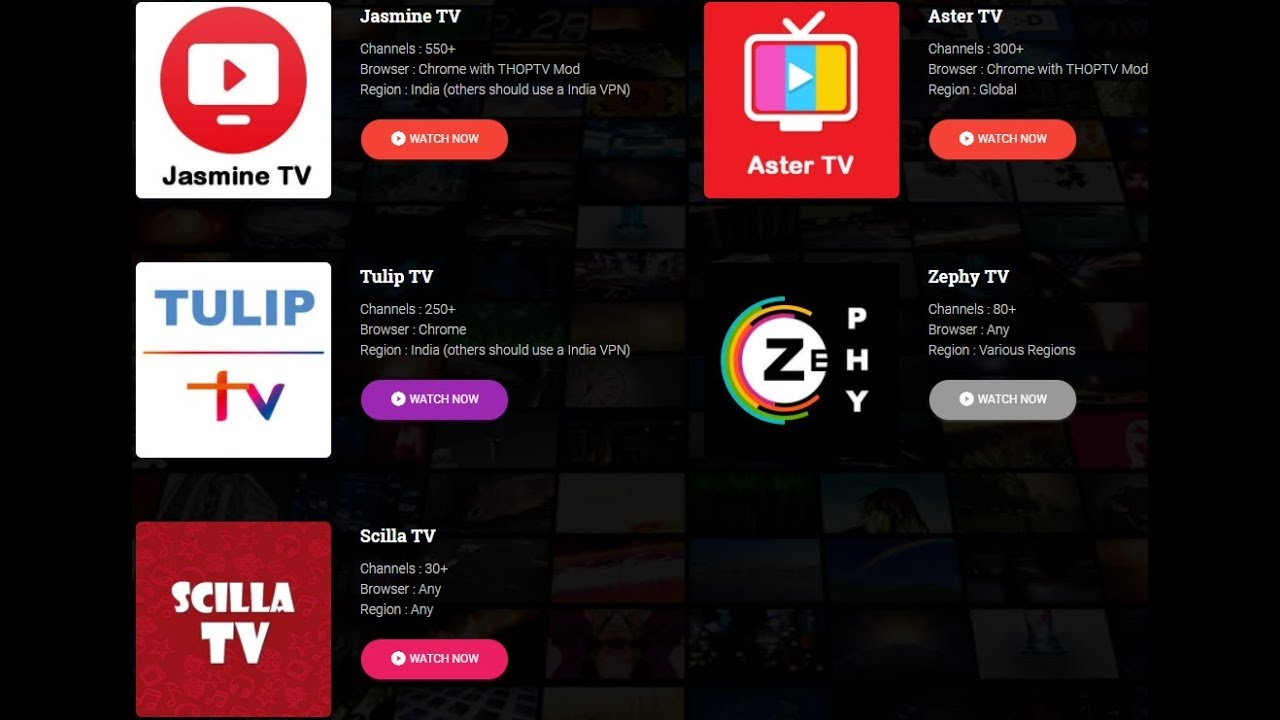 Watch Jio tv ,Airtel Tv, Yupp Tv, Sun Nxt, in Your Pc With out Any cost  Hurry up